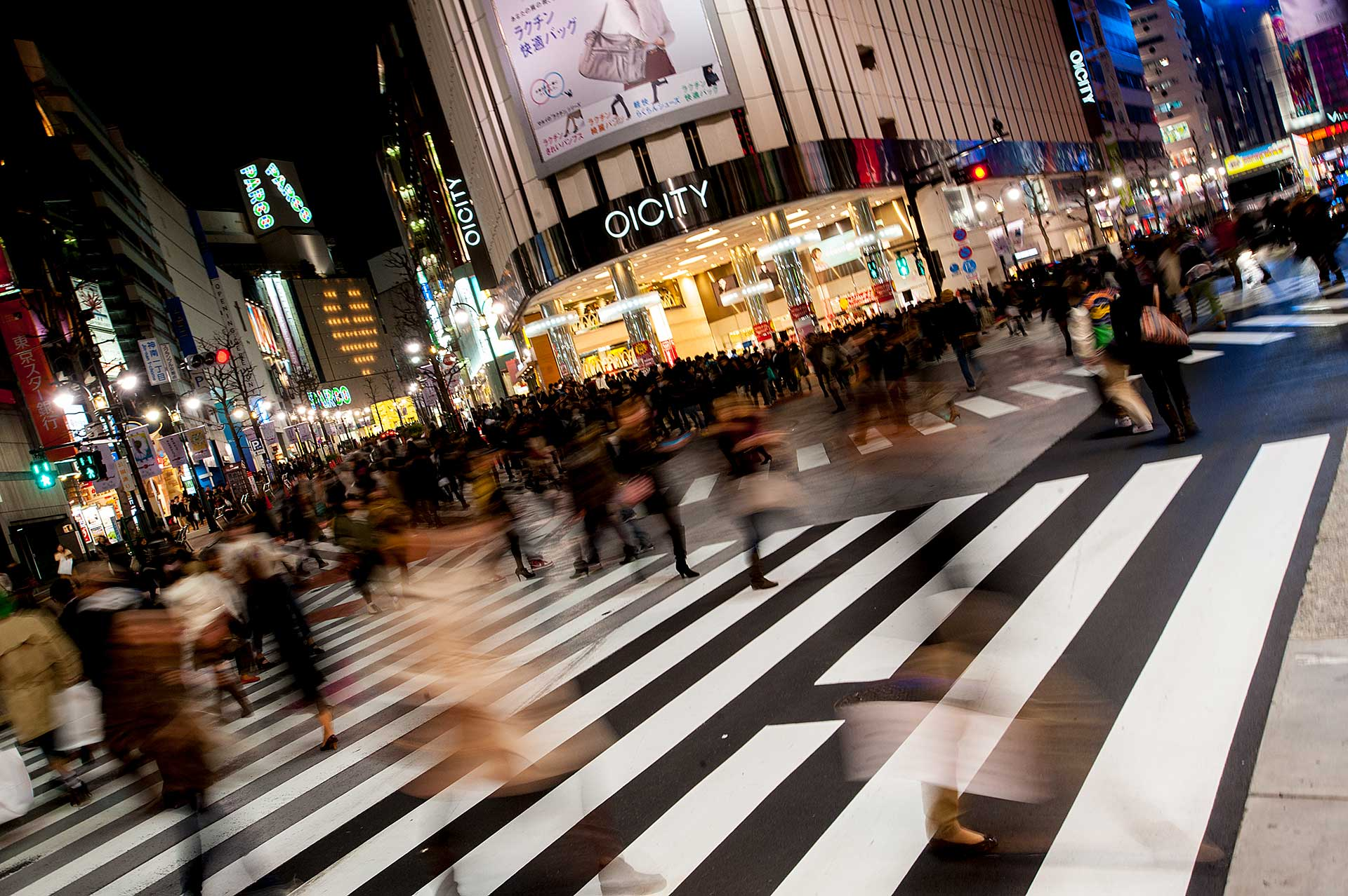If you love busy, you'll love Tokyo shopping